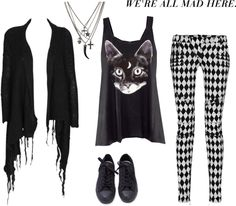 """""""Stitious"""" by burymeinleather on Polyvore"""