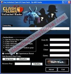 Clash of Clans Cheat Tool Trainer
