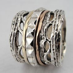 I like the way it looks like multiple stack rings