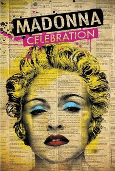 See Madonna in concert- completed Nov 2012 Madonna Pictures, Madonna Art, Cool Album Covers, Band Posters, Concert Posters, Artist Art, Graphic Illustration, Vintage Posters, Pop Art