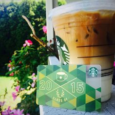 Now, this is my kind of graduation gift! Free Starbucks Gift Card, Starbucks Rewards, Coffee Is Life, Coffee Love, Graduating Class, Happy Summer, Graduation Gifts, Free Gifts, Design Elements