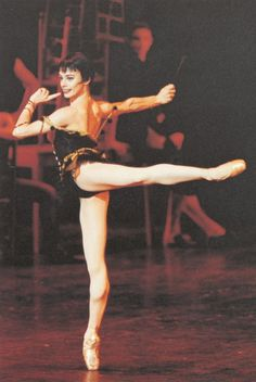 """Ballerina Alessandra Ferri. She is one of only 11 dancers to ever earn the rare & honored titled """"Prima Ballerina Assoluta."""""""