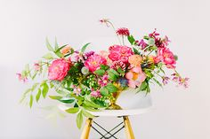 An autumn dinner party | photo by Apryl Ann Photography | 100 Layer Cake