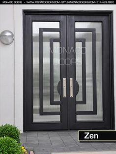 Contemporary Front Door Handles Iron Doors Exterior