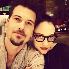 nick zano kat dennings... such a sweet couple