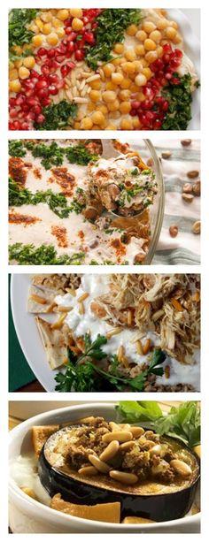 كتاب الطبخ - وصفات فتة من أطباقي Cook books - Fatteh recipes from Atbaki