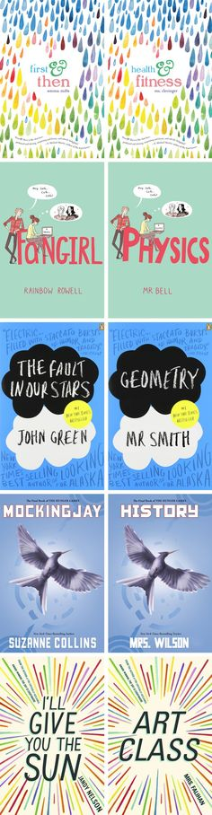 DIY Binder Covers inspired by YA Books – Back to School 2015 | Karen Kavett  #BacktoSchool
