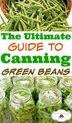 How to pressure can green beans. Pressure canning green beans is a great way to preserve food for our family. I love to fill my pantry shelves with home canned foods. Green beans are one of the staples in our home canning pantry. via @BarnyardJen