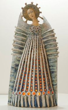 One-of-a-kind ceramic sculpture created by Marta Wasilczyk