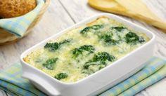 Zapekaná brokolica s Tofu Broccoli Casserole, Casserole Dishes, Casserole Recipes, Flan, Broccoli And Cheese, Creamed Mushrooms, Rigatoni, 20 Min, Fusilli