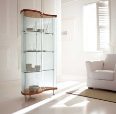 Sempra contemporary curio cabinets design
