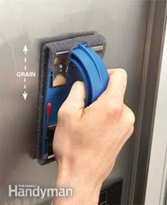 How To Remove Scratches From Stainless Steel Appliances - great tutorial shows how to easily remove scratches.