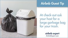 This tip is sure to help you get a great review from your Airbnb host!  #Airbnb #LifesBetterWithAirbnb #AirbnbExpert