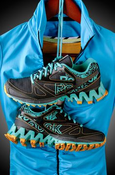 Reebok Women's ZigKick Trail Running Shoes. From the treadmills to the trails, the Reebok ZigKick Trail running shoe promises to keep you comfortable and supported! @Shoe_Carnival