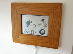 E-book Weather & Recycling Station