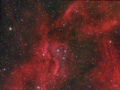 El Catálogo Sharpless: Sh2-109 (Sharpless 109) es un conjunto de nebulosas que se encuentra en el brazo de Orión de la Vía Láctea. Entre ellas se incluyen nebulosas conocidas como la Nebulosa de Norteamérica. #astronomia #ciencia
