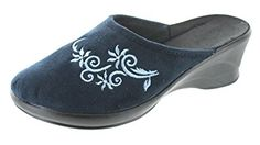 SC Home Collection Womens Closed Toe Wedge Slippers Review