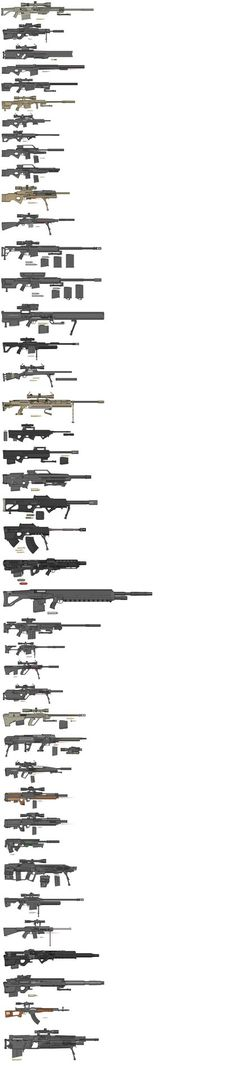 Shadowrun Weaponsheet My Arsenal by NikitaTarsov.deviantart.com on @DeviantArt