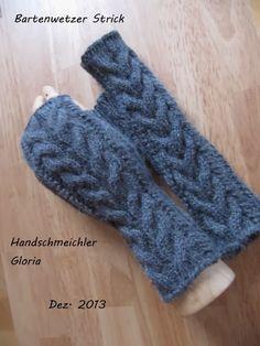 Ravelry: pattern by Anita Tippman - Gebreide wanten met gratis patroon Crochet Gloves Pattern, Fingerless Gloves, Arm Warmers, Ravelry, Projects To Try, Handmade, Crafts, Design, Airsoft