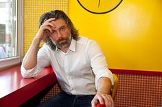 "Anson Mount of ""Hell On Wheels"" in New York City, August 4, 2013. Photo © 2013 Mark Doyle."