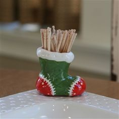 Nora Fleming toothpick holder  available on amazon