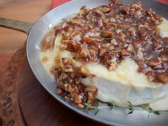 Maple Pecan Baked Brie from CookingChannelTV.com