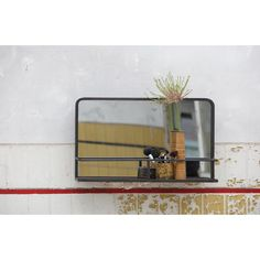 Reflection Hanging Accent Mirror with Planchet