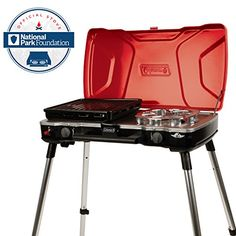 Coleman Hyperflame Fyremajor 2 Burner 3IN1 Propane Stove *** Check out the image by visiting the link.