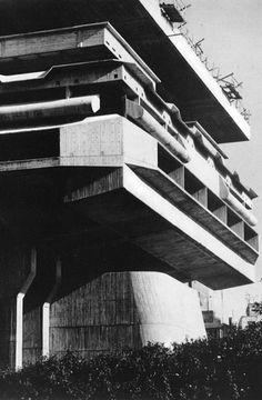 Biblioteca Nacional de la República, Buenos Aires, Argentina, 1962-1995 Clorindo Testa, Francisco Bullrich & Alicia Cazzaniga de Bullrich