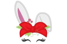 Bandanna Heifer Summer bunny head with flowers Bandana applique machine embroidery designs Summertime Easter bunny Machine Embroidery Applique, Embroidery Files, Reindeer Face, Shabby, Stitch Design, Applique Designs, Easter Bunny, Summertime, Things To Sell