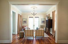 Contemporary Coastal Living/Dining Room - transitional - living room - chicago - Kristin Petro Interiors, Inc.