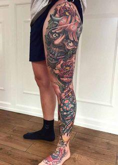 125 Best Leg Tattoos For Men: Cool Ideas + Designs Guide) Shin Tattoo, Knee Tattoo, Leg Sleeve Tattoo, Leg Tattoo Men, Calf Tattoo, Side Leg Tattoo, Upper Leg Tattoos, Best Leg Tattoos, Cool Tattoos For Guys