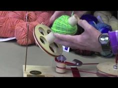 How To Use A Ball Winder and Swift: Otto and Joanne Strauch makers of fine tools for spinners demonstrate how to make a center-pull ball and skein using a swift and ball winder. These are must-have tool for anyone who loves to play with yarn.