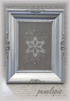 snowflake - Penelopis' cross stitch freebies: Christmas / Christmas