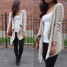Love the sweater.. Love the outfit! Definitely ready for fall