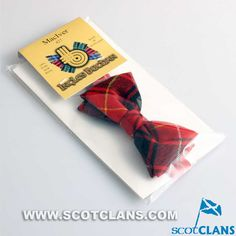 Clan MacIver Childs Tartan Bow Tie