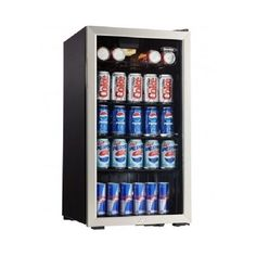 Refrigerator Beverage Center Cooler Cold Drinks 120 Cans Man Cave Rec Rm Dorm   #Danby