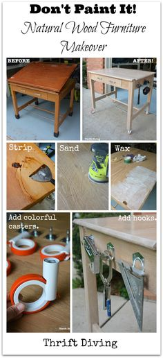 Strip Furniture: How To Create A Natural Wood Furniture Look With Oak