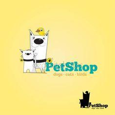 Logotipo de veterinaria — Vector de stock © Yam #45046687