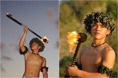 Fire Dancers-Hawaii