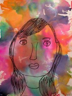 Artsonia Art Gallery - Self Portrait (Bleeding Tissue)