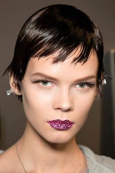 makeup by Pat McGrath: Dior, Spring 2013 Couture