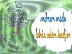 kartu ucapan lebaran 1437 h bahasa arab