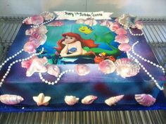the little mermaid cake - Google Search