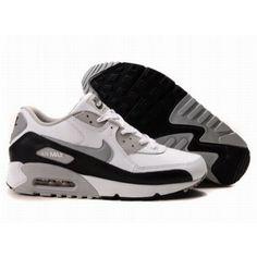 best service 5c4bd 687b4 Nike Air Max 90 White Grey Black D05158 Air Max 90 Black, Air Max 97