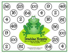 First Grade a la Carte: Bunny Hop Freebie First Grade Classroom, 1st Grade Math, Math Classroom, Kindergarten Math, Teaching Math, Second Grade, Teaching Ideas, Classroom Ideas, Kids Math