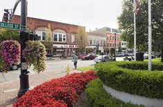 oberlin, ohio - where I was born. I miss that quaint little town.