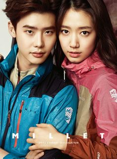 Park Shin Hye and Lee Jong Suk revive as a couple for Millet S/S 2015