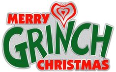 """Merry Grinch Christmas Iron On Transfer 4.5"""" x7"""" for LIGHT Colored Fabric"""