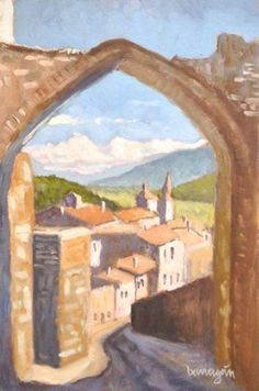 Buy The Arch in Amelia Umbria Italian Plein Air Landscape Oil Painting, Oil painting by Caridad I. Barragan on Artfinder. Discover thousands of other original paintings, prints, sculptures and photography from independent artists.